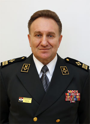 General Drago Lovrić, Chief of General Staff of Croatia