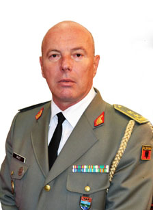 Jeronim Bazo, Chief of Defence of Albania