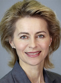 Ursula von der Leyen, Minister of Defence of Germany