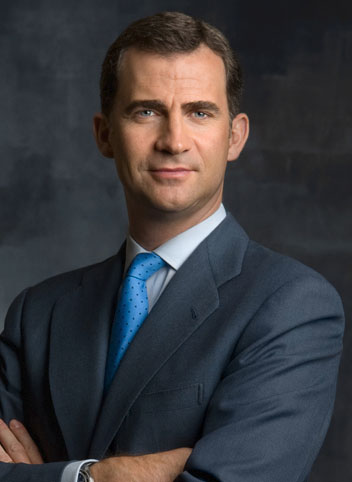 His Majesty King Felipe VI, Head of State of Spain