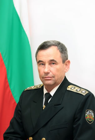 Vice Admiral Rumen Nikolov, Chief of Defense Staff of Bulgaria