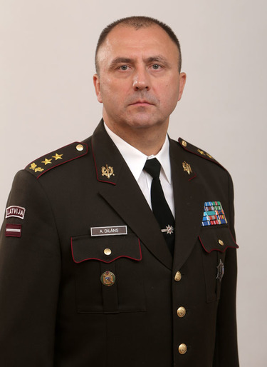 Andis Dilāns, Military Representative of Latvia to NATO