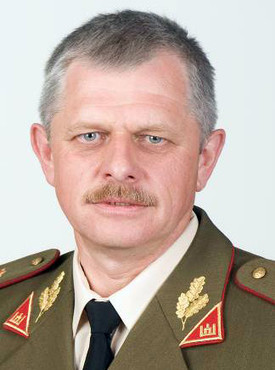 Brigadier General Gintautas Zenkevičius, Military Representative of Lithuania to NATO