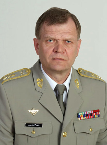 Josef Becvar, Chief of the General Staff of Armed Forces of the Czech Republic