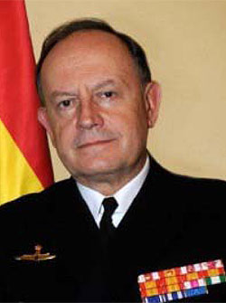 Admiral Jose Urcelay, Military Representative of Spain to NATO