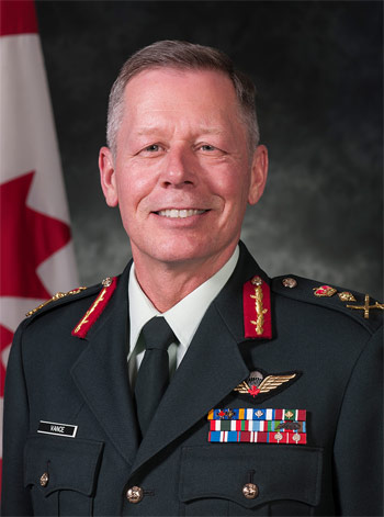 Jonathan Vance, Chief of the Defence Staff of the Canadian Armed Forces