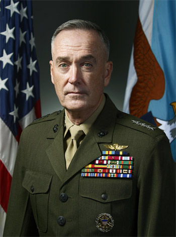 Joseph F. Dunford, US Chairman, Joint Chiefs of Staff