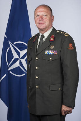 Jan Broeks, Director General of the NATO International Military Staff (DGIMS)