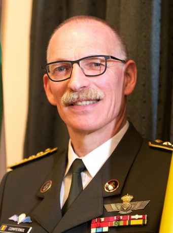 Marc Compernol, Chief of Defence of Belgium