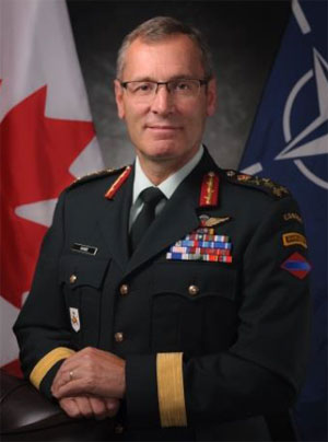 Marquis Hainse, Military Representative of Canada to NATO