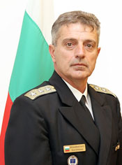 Vice Admiral Emil Eftimov, Acting Chief of Defence of Bulgaria