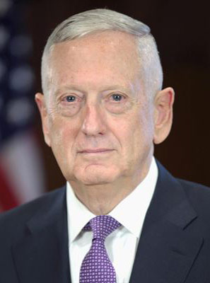 Jim Mattis, US Secretary of Defense