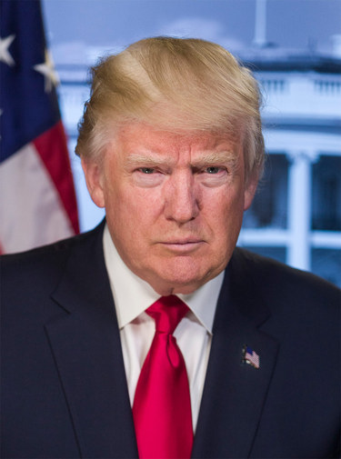 Donald J. Trump, President of the United States