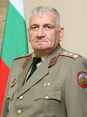 Lieutenant General Andrey Botsev, Chief of Defence of Bulgaria