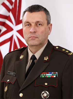 Leonīds Kalniņš, Chief of Defence of the Republic of Latvia