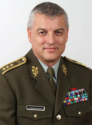 Lieutenant General František Malenínský,  NATO, Military Representative for the Czech Republic