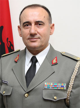 Bardhyl Kollçaku, Chief of Defence of Albania