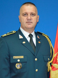 Ilija Daković, Chief of Defence of the Montenegro Armed Forces
