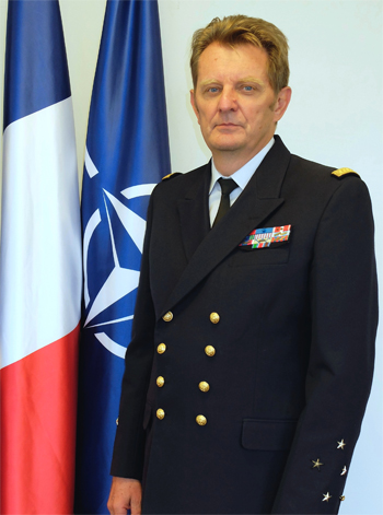Eric Chaperon, Military Representative for France