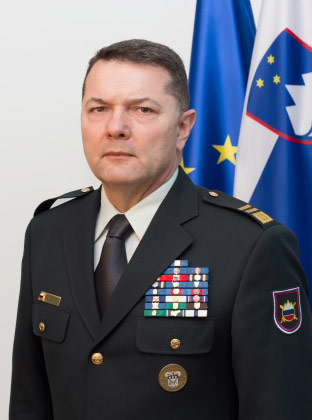 Major General Alan Geder, Chief of the General Staff of the Slovenian Armed Forces