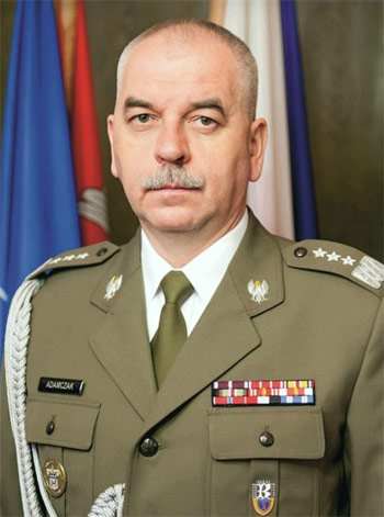Janusz Adamczak, Polish Military Representative to the NATO Military Committee