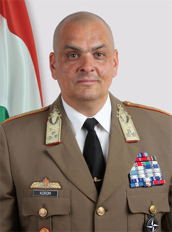 Ferenc Korom,  Chief of Defence Staff of Hungary