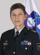 Alenka Ermenc, Chief of the General Staff of the Slovenian Armed Forces