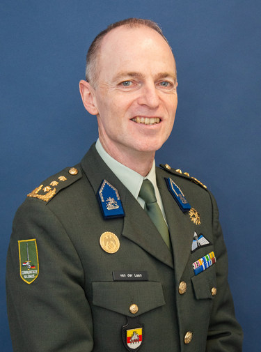 Michiel van der Laan, Military Representative of the Kingdom of the Netherlands to the NATO & EU Military Committees