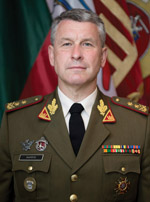 Valdemaras Rupšys, Chief of Defence of the Republic of Lithuania