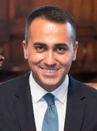 Luigi Di Maio, Minister of Foreign Affairs of Italy