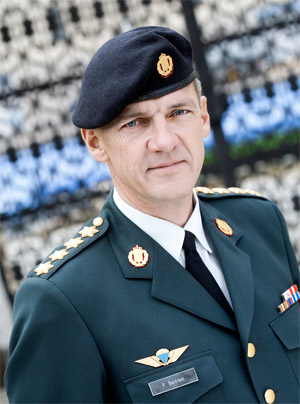Peter Bartram, Chief of Defence of Denmark