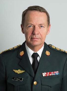 General Bjørn Ingemann Bisserup, Chief of Staff of Denmark