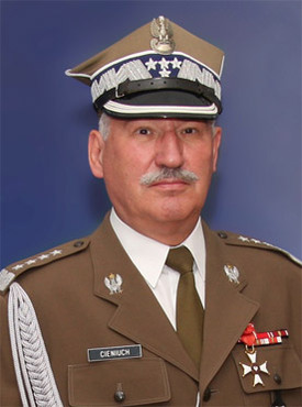 General Mieczysław Cieniuch, Chief of the General Staff of the Polish Armed Forces