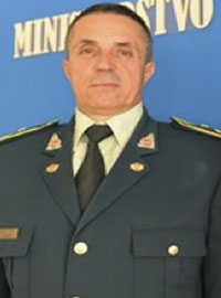 Dragutin Dakić, Chief of Defence of the Montenegro Armed Forces