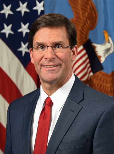 Mark T. Esper, US Secretary of Defense