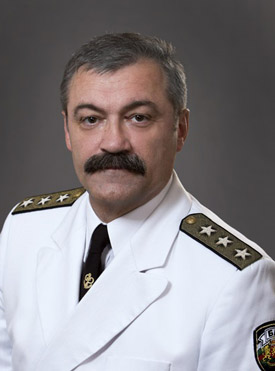 Vice Admiral Georgi Fidanov, Military Representative of Bulgaria to NATO