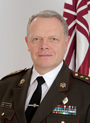 Lieutenant General Raimonds Graube, Chief of Defence of Latvia