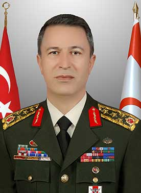 General Hulusi Akar, Chief of Defence of Turkey