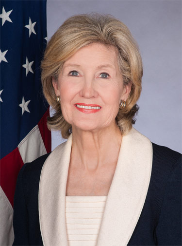 Kay Bailey Hutchison, NATO Permanent Representative for the United States