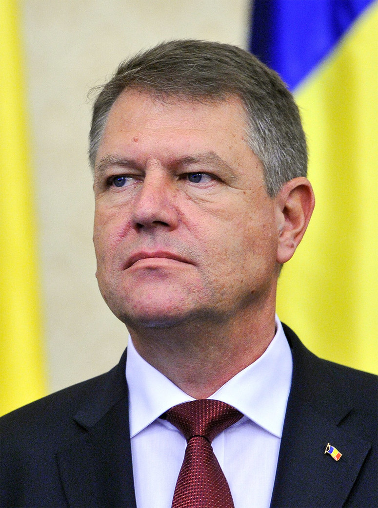 NATO - Biography: Klaus Werner Iohannis, President of Romania