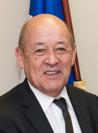 Jean-Yves Le Drian, Minister for Europea and Foreign Affairs of France