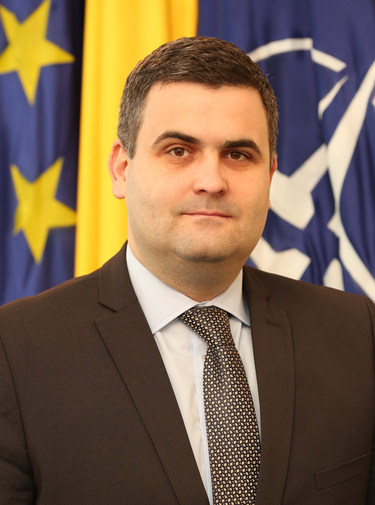 Gabriel-Beniamin Leș, Minister of Defence of Romania