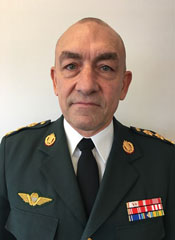 Lieutenant General Michael Anker Lollesgaard, Military Representative for Denmark