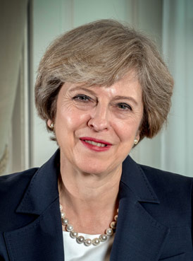 The Rt Hon Theresa May MP, Prime Minister of the United Kingdom