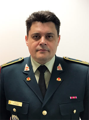 Rajko Pesic, Military Representative of Montenegro to NATO