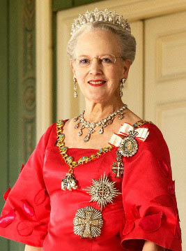 Her Majesty Queen Margrethe 2, Head of State of Denmark