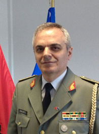 Qemal Shkurti, Military Representative of Albania to NATO