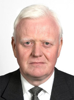 Arnór Sigurjónsson, Military Representative for Iceland