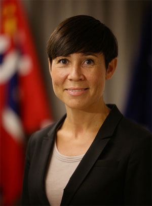 Ine Marie Eriksen Søreide, Minister of Foreign Affairs of Norway