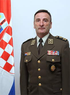 Mirko Šundov, Chief of Defence of Croatia